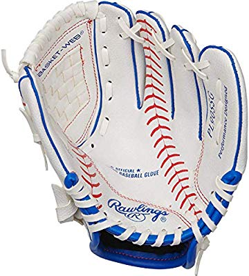 Rawlings Players Series Youth Tball Baseball Gloves Ages 3 To 9
