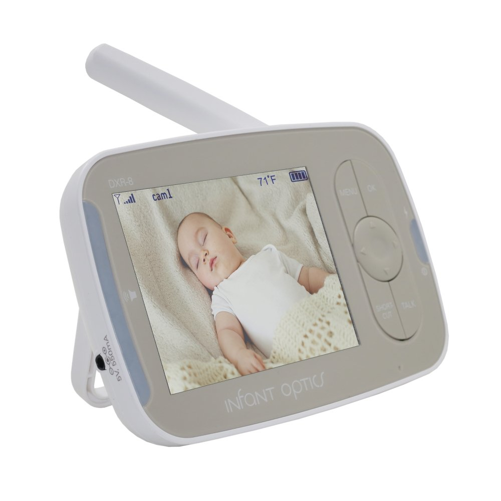 Infant Optics DXR-8 Standalone Monitor Unit ONLY v2.1 with Round-Pin Charging Port (Without Camera Unit)