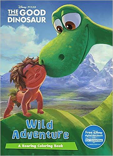 Disney Pixar The Good Dinosaur Mega Coloring Parragon Books Ltd 9781474837590 Amazon