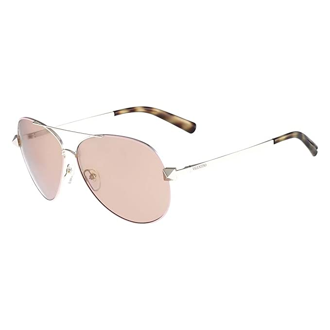 Valentino Gafas de Sol V117S 61 (61 mm) Plateado: Amazon.es ...