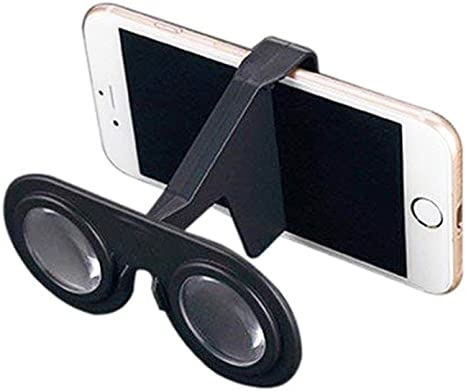Unicoco Mini Gafas de Realidad Virtual Plegable de Las Gafas 3D VR ...