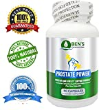 Ben's Prostate Power – Advanced Prostate Support Supplement For Optimal Prostate Health & Normal Urination – Reduce Frequent Urination – Synergistic Formula With Saw Palmetto Berry Extract