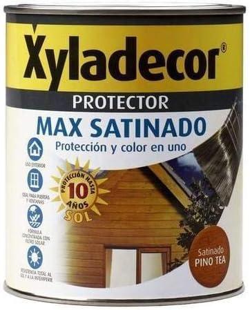 Protector Max satinado nogal Xyladecor 2,5l: Amazon.es ...