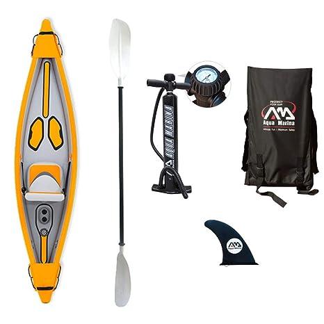Aqua Marina hinchable Kayak Tomahawk - 2018 - para 1 persona ...