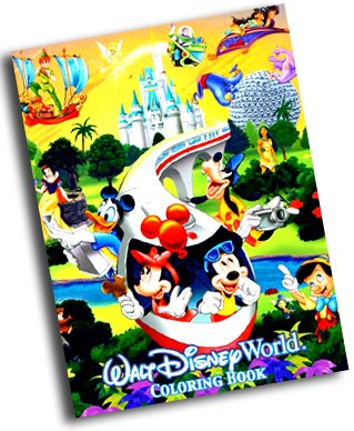 Walt disney world coloring book walt disney world exclusive walt disney world amazon com books