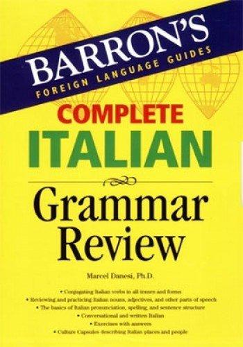 (Complete Italian Grammar Review (Barron's)