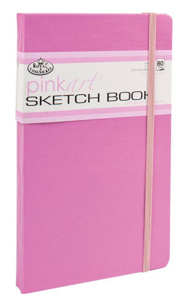 Royal & Langnickel Pink Art Sketch Book PA-SKETCH