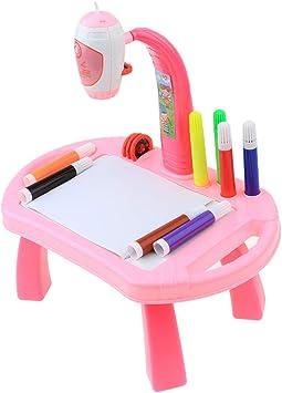 T TOOYFUL Proyector Pintura Tablero De Dibujo Juguete Educativo ...