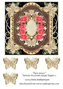 Pure Grace varios ocasiones tamaño grande Topper 1por Anna Babajanyan