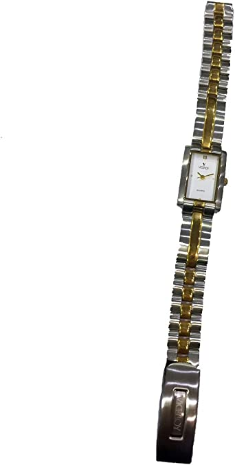 Reloj Viceroy de mujer rectangular clásico, de acero