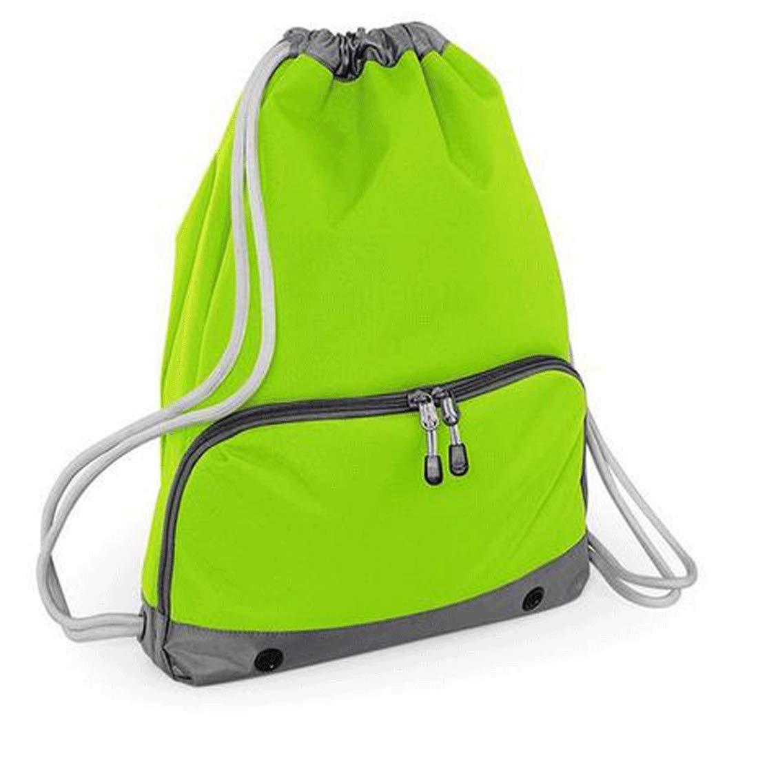 Personalised Red Drawstring Bag Sack Gym PE Swim Gym  School Print