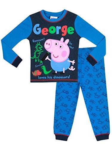 Peppa Pig Boys' George Pig Peppa Pig Pajamas Size 2T -