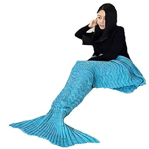 Mermaid-BlanketPuremakee-Mermaid-Tail-Blanket-Warm-Soft-All-SeasonsSofa-Quilt-Living-Room-Super-Sleeping-Bags