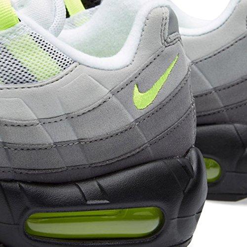 Nike Air Max 95 Og Mannen Sport & Outdoor Schoenen Zwart - Zwart / Volt-medium Ash-donkere Weg
