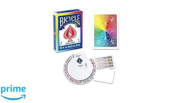 Baraja BICYCLE Arco Iris: Amazon.es: Juguetes y juegos