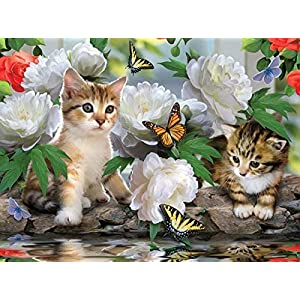 Among The Peonies A 1000 Piece Jigsaw Puzzle By Sunsout Inc By Sunsout