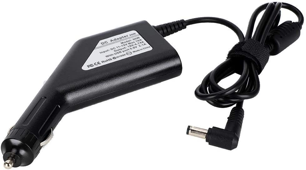 90W Multifunctional Car Charger with USB Interface and 10Pcs Adapter Fit for Laptops Wendry Car Power Adapter