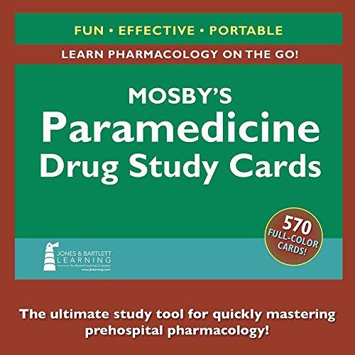 Mosby's Paramedicine Drug Study Cards