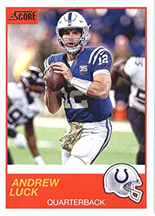 cheap for discount 10054 0bd62 Amazon.com: 2019 Score Football #52 Andrew Luck Indianapolis ...