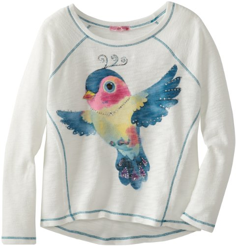 Sugartart Love Girls 7-16 Printed French Terry Top