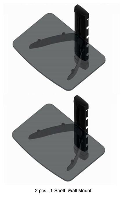 Ideal Amazon.com: 2 PCS Wall Mount Shelf for Direct Tv Box, DVD Player  HJ14