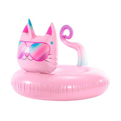 3C4G Caticorn Pool Float: Toys & Games