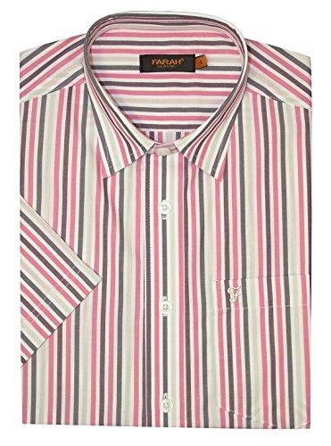 Farah Herren Freizeit-Hemd rosa rose Einheitsgröße