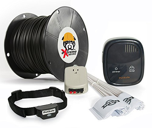 PetSafe Rechargeable In-Ground Dog Fence – 1500 Feet of Upgraded eXtreme Wire