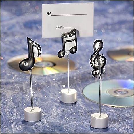 Segnaposto Matrimonio Musica.Segnaposto 3 Pezzi Note Musicali Amazon It Salute E Cura Della