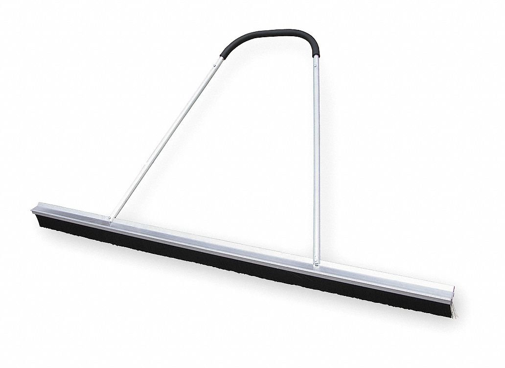 Synthetic Push Broom, 84'' Sweep Face