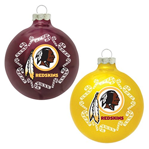 NFL Washington Redskins Home and Away Ornament Set