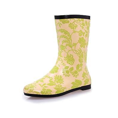 Botas de Agua de Lluvia de la Sra Wellington Rain Boots