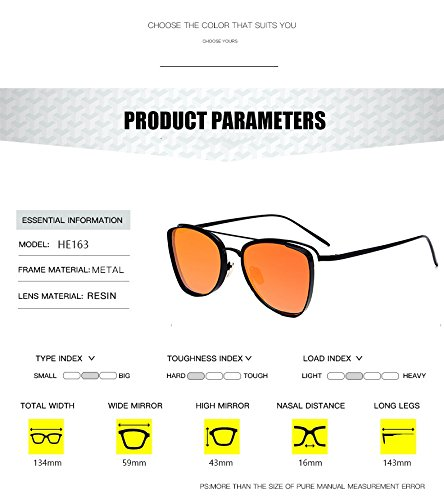 Amazon.com : BranXin(TM) 2017 Fashion Men Oval Cat Eye ...