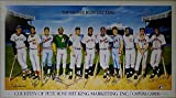 500 Home Run Club 11 Signed Poster Mantle Williams Aaron Mays - JSA Authentic Loa #X61814