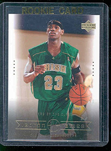 Upper Deck Rookie Class Card - 2003 Upper Deck #6 Head of the Class Lebron James Rookie Card - Mint Condition Ships in a Brand New Holder