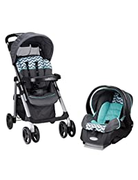 Evenflo Vive Travel System with Embrace, Spearmint Spree BOBEBE Online Baby Store From New York to Miami and Los Angeles