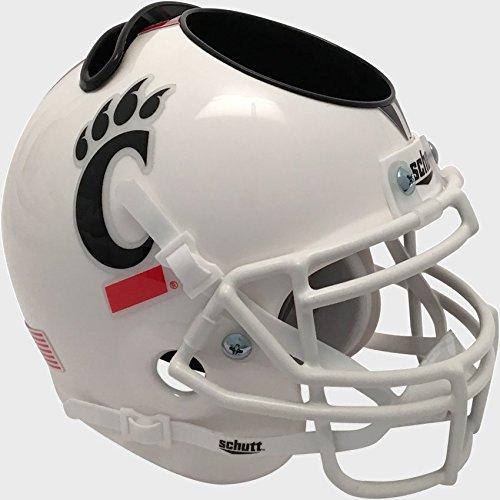 Schutt NCAA Cincinnati Bearcats Unisex NCAA Cincinnati Bearcats Football Helmet Desk Caddyncaa Cincinnati Bearcats Football Helmet Desk Caddy, Tribal Stripes, N Cincinnati Bearcats Replica Mini Helmet