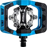 DMR V-Twin Clipless Pedals: 9/16', Alloy Outer Platform, Blue