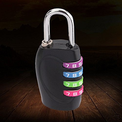 Yangge Yujum Nuova Serratura a Combinazione Lucchetto Password Corpo in Alluminio di 4 cifre per Valigia di Corsa
