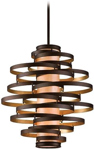Corbett 28574344 Vertigo Lighting, 26.5 L x 30 W x 32.75 H, Bronze Dark