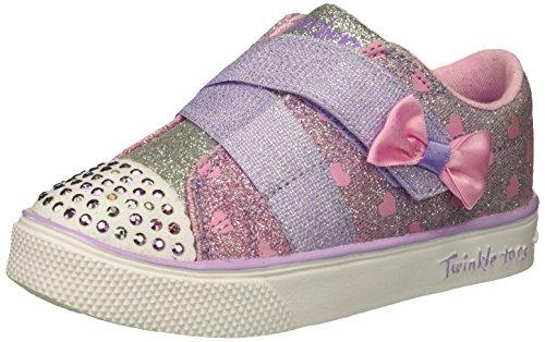 - Skechers Kids Girls' Twinkle Breeze 2.0-Sparkle-Z Sneaker, Lavender/Multi, 8 Medium US Toddler