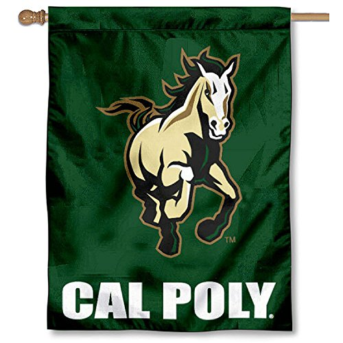 Cal Poly Mustangs House Flag