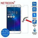Netboon Asus Zenfone 3 Laser Tempered Gorilla Glass Screen Protector HD Clarity, 9H Hardness For Asus Zenfone 3 Laser (ZC551Kl)