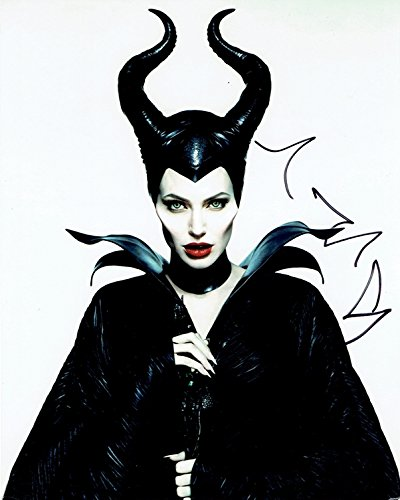 ANGELINA JOLIE - Maleficent AUTOGRAPH Signed 8x10 Photo by TopPix Autographs