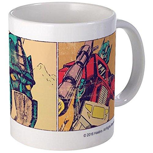 CafePress Transformers Optimus Prime Retro Mug Unique Coffee Mug, Coffee Cup (Coffee Mug Decepticon)