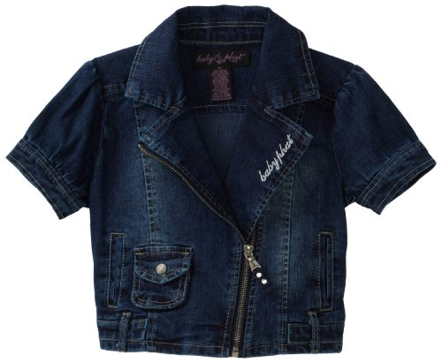 Baby Phat - Kids Little Girls' Motorcycle Jacket