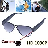 Oumeiou Stylish1080P Hidden Camera Eyewear Spy Sunglasses Sports Camcorder Video Recorder Camera Glasses Support Micro Sd Card