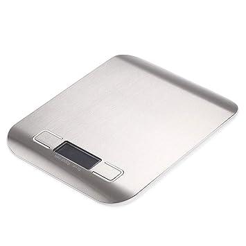 ZHANGYUGE balanzas de Cocina Mini portátil de Bolsillo de precisión de Acero Inoxidable balanza electrónica Joyería Peso Gramos de Oro,5Kg-1G: Amazon.es: ...