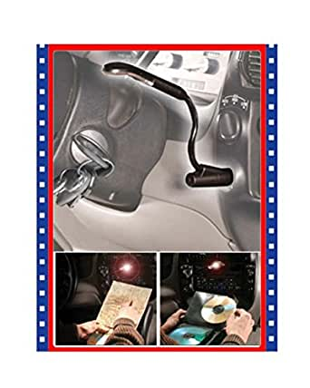 Auto Car Flexible Interior Plug In Map Reading Light