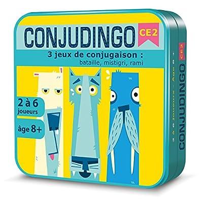 Aritma ARIT04 - Jeu éducatif pour Enfant - Conjugodingo
